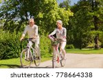 active old age  people and... | Shutterstock . vector #778664338