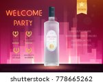 design premium ads template... | Shutterstock .eps vector #778665262