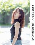 beautiful asian girl relaxing...   Shutterstock . vector #778681555