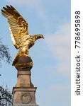 The Gold Eagle In London Along...