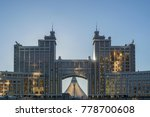 kaz munai gas building  22.... | Shutterstock . vector #778700608
