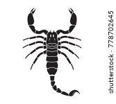 Scorpion Icon. Vector Realistic ...