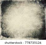 designed grunge texture | Shutterstock . vector #778735126