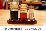 seasonings  have sauce  sesame... | Shutterstock . vector #778743706