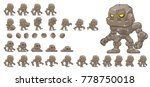 golem game character for... | Shutterstock .eps vector #778750018
