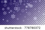 beautiful christmas background... | Shutterstock .eps vector #778780372