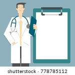 vector illustration doctor... | Shutterstock .eps vector #778785112