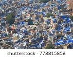 jodhpur cityscape india | Shutterstock . vector #778815856