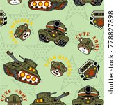 vector seamless pattern with... | Shutterstock .eps vector #778827898