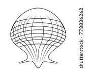 seashell marine symbol | Shutterstock .eps vector #778836262