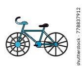 sport vintage bike   Shutterstock .eps vector #778837912