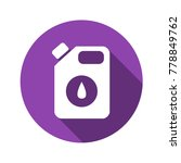 oil canister vector flat icon. | Shutterstock .eps vector #778849762