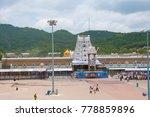 tirumala  hyderabad india 31...   Shutterstock . vector #778859896