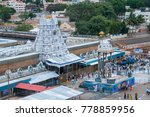 tirumala  hyderabad india 31...   Shutterstock . vector #778859956