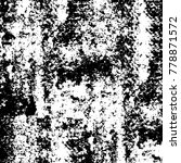 black and white grunge...   Shutterstock .eps vector #778871572