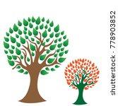 tree logo design template.vector | Shutterstock .eps vector #778903852