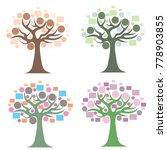 tree logo design template.vector | Shutterstock .eps vector #778903855