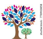 tree logo design template.vector | Shutterstock .eps vector #778903858