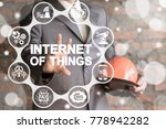 internet of things. iot... | Shutterstock . vector #778942282