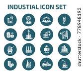 industrial icon set design... | Shutterstock .eps vector #778948192
