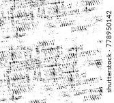 grunge black and white pattern. ...   Shutterstock . vector #778950142