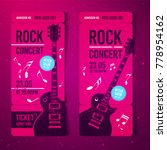 vector illustration pink rock... | Shutterstock .eps vector #778954162