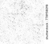 grunge black and white pattern. ... | Shutterstock . vector #778958098