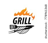 barbecue party logo | Shutterstock .eps vector #778961368