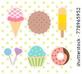 cute vector icons  | Shutterstock .eps vector #778965952