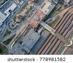central railroad station and... | Shutterstock . vector #778981582