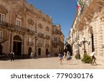syracuse  sicily italy   7th... | Shutterstock . vector #779030176