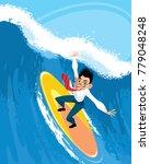 vector illustration of a... | Shutterstock .eps vector #779048248