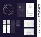 tailor studio logo. atelier... | Shutterstock .eps vector #779058772