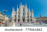 the duomo cathedral timelapse...   Shutterstock . vector #779061862