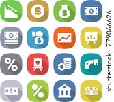 flat vector icon set   crisis... | Shutterstock .eps vector #779066626