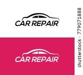 automotive car repair logo...   Shutterstock .eps vector #779071888