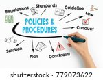 policies and procedures concept.... | Shutterstock . vector #779073622