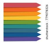 template 9 positions...   Shutterstock . vector #779078326