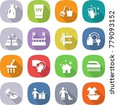 flat vector icon set   cleanser ... | Shutterstock .eps vector #779093152