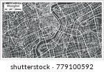 shanghai china city map in... | Shutterstock .eps vector #779100592