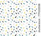 confetti vector pattern.... | Shutterstock .eps vector #779102038