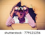 endoscopic boys are out of...   Shutterstock . vector #779121256