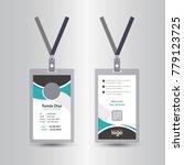 creative simple green   black... | Shutterstock .eps vector #779123725