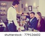 displeased guests conflicting... | Shutterstock . vector #779126602