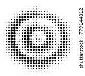 abstract grunge grid polka dot... | Shutterstock .eps vector #779144812