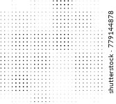 abstract grunge grid polka dot... | Shutterstock .eps vector #779144878