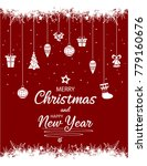 merry christmas and happy new... | Shutterstock .eps vector #779160676