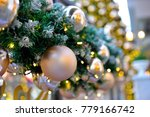 beautiful christmas decoration | Shutterstock . vector #779166742