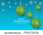 christmas light vector... | Shutterstock .eps vector #779172376