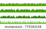 large set of fresh green spring ... | Shutterstock .eps vector #779183158